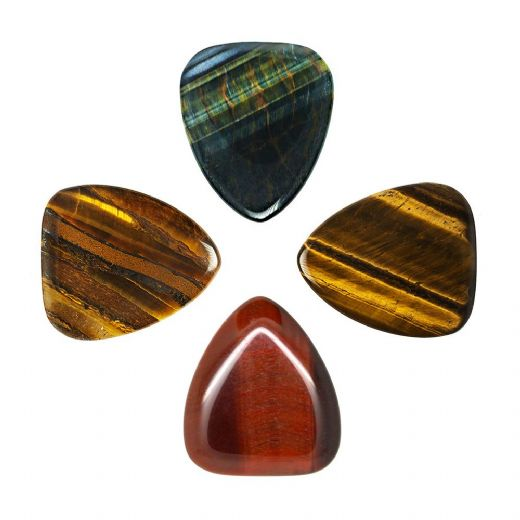 Tiger Tones Mixed Pack of 4 Guitar Picks